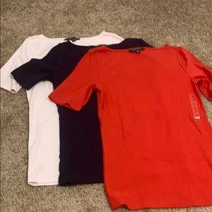 Bundle 3 Ralph Lauren shirts